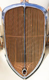 Vintage car grill Royalty Free Stock Images