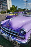 Vintage car in Havana, Cuba Stock Photography