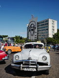 Vintage car in Havana, Cuba Royalty Free Stock Photos