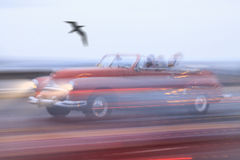 Vintage car,Havana Fantasy Royalty Free Stock Image