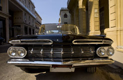 Vintage car, Havana Stock Photo