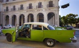 Vintage car of Havana Royalty Free Stock Photo