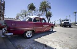 Vintage car of Havana Stock Photos