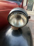 Vintage car head-light Stock Photography