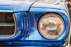 Vintage Car Head Light Royalty Free Stock Images