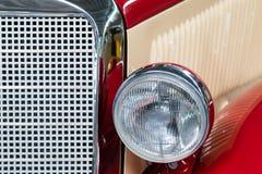 Vintage car headdlight Stock Images