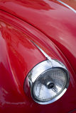 Vintage car headlight Stock Photography