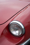 Vintage car headlight Stock Photo