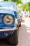 Vintage car headlight Royalty Free Stock Images