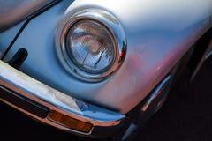 Vintage car headlight Stock Photography