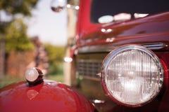 Vintage car headlight Stock Photos