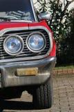 Vintage Car Headlight stock image