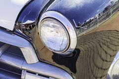 Vintage Car Headlight Royalty Free Stock Photos