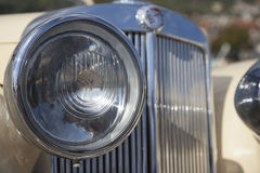 Vintage car headlights Royalty Free Stock Image