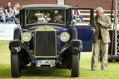 Vintage car Horch 8 Typ 303 Royalty Free Stock Photos