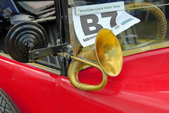 Vintage car horn Stock Image