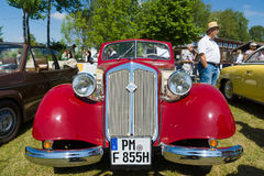 Vintage car IFA F8 cabriolet Royalty Free Stock Image