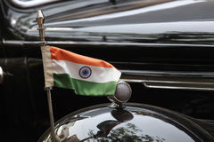 Vintage Car in India Royalty Free Stock Photo