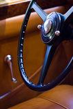 Vintage car interior Royalty Free Stock Photos