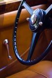 Vintage car interior Royalty Free Stock Photos