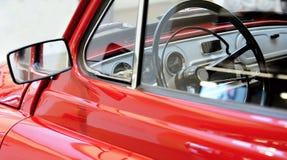 Vintage car interior view Stock Photos