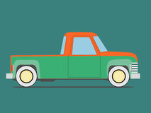 Vintage  car. Isolated Royalty Free Stock Photos