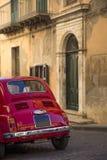 Vintage car on the italian street Stock Photography