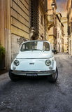 Vintage car in Italy Stock Images