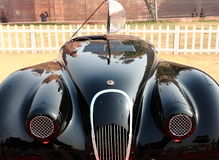 Vintage car, Jaguar Royalty Free Stock Photos