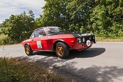 Vintage car Lancia Fulvia 1.3 Stock Images