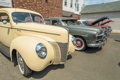 Vintage car lot Royalty Free Stock Photos