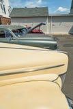 Vintage car lot Royalty Free Stock Photo
