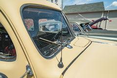 Vintage car lot Royalty Free Stock Image