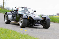Vintage  car Lotus Super Seven from  1972 Royalty Free Stock Photos
