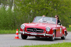 Vintage car Mercedes-Benz 190 SL from 1960 Royalty Free Stock Photo