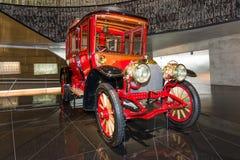 Vintage car Mercedes-Simplex 60 PS Touring Limousine, 1904 Royalty Free Stock Photo