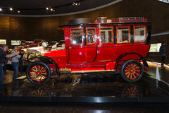 Vintage car Mercedes-Simplex 60 PS Touring Limousine, 1904 Royalty Free Stock Photos