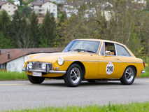 Vintage  car MG B GT from  1978 Stock Image