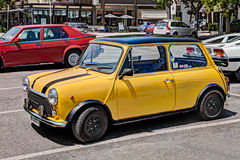 Vintage car Mini Cooper 1300 Stock Image