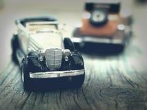 Vintage car models Royalty Free Stock Image