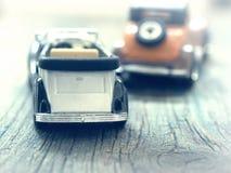Vintage car models Stock Photos