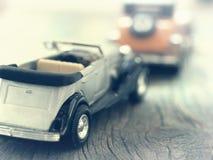 Vintage car models Stock Images