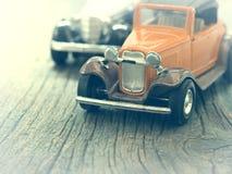 Vintage car models Royalty Free Stock Photos