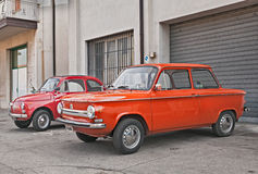 Vintage car Nsu Prinz 4L Royalty Free Stock Photos