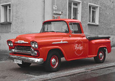 Classic American pick-up car Royalty Free Stock Photos
