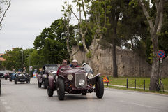 Vintage car om Royalty Free Stock Photos