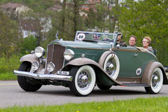 Vintage  car Packard Cabriolet from  1932 Stock Images