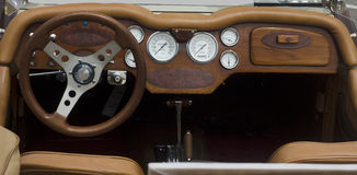 Vintage car panel Royalty Free Stock Photography