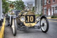 Vintage car. In parade car show. Taken May 2, 2013 Royalty Free Stock Photography