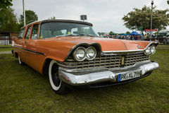 Vintage car Plymouth Suburban, 1959 Stock Photography